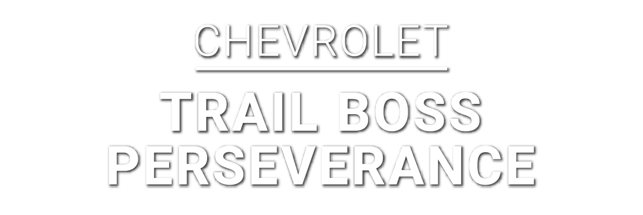 Chevrolet-Trail Boss Perseverance